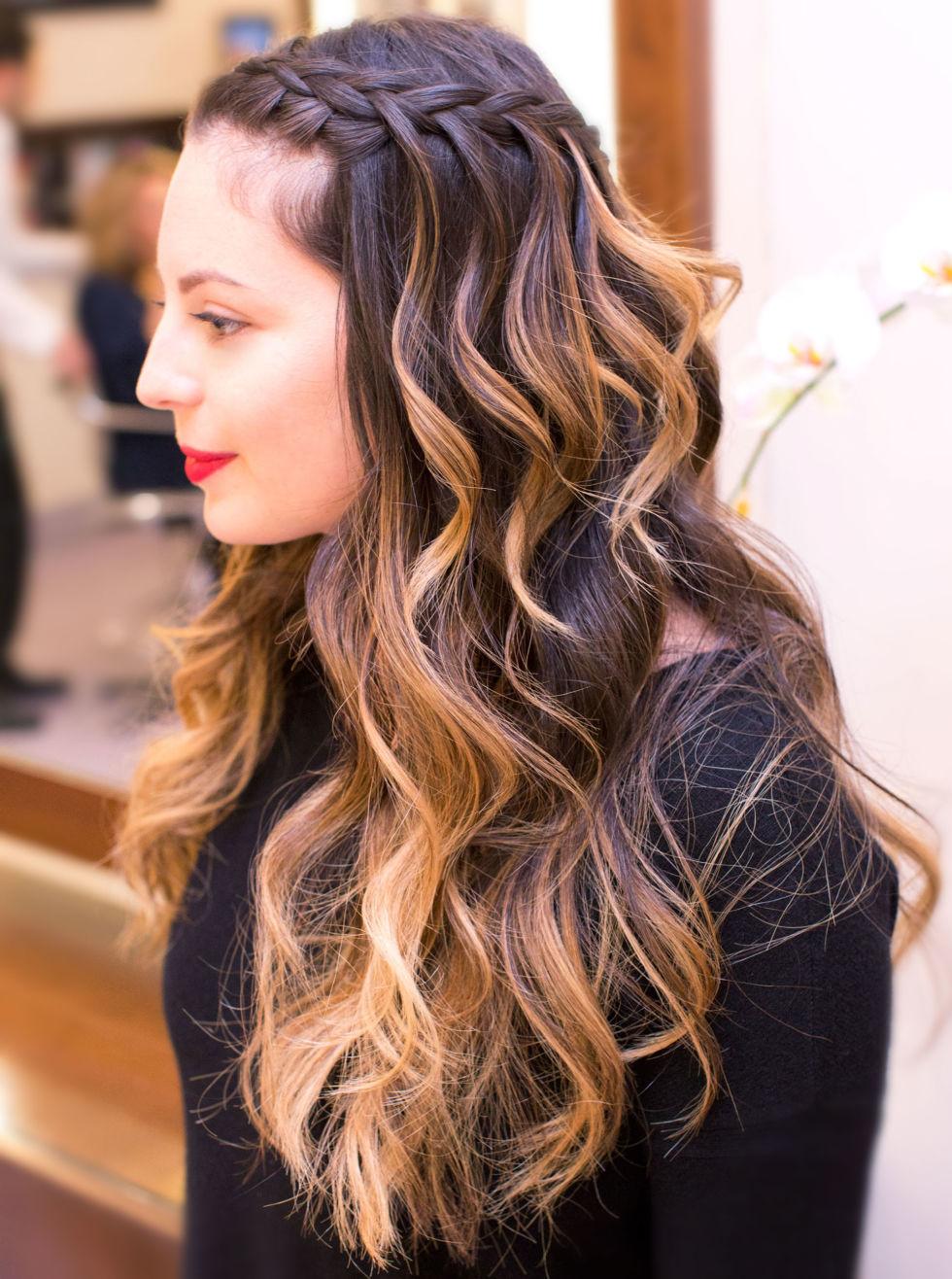 braided hairstyles hair down | fade haircut